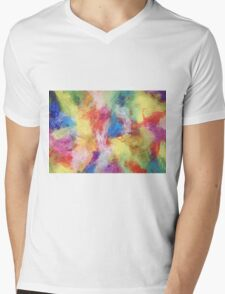 """In a Dream No.5"" original abstract artwork by Laura Tozer Mens V-Neck T-Shirt"