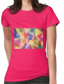 """""""In a Dream No.5"""" original abstract artwork by Laura Tozer Womens Fitted T-Shirt"""