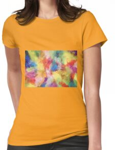 """In a Dream No.5"" original abstract artwork by Laura Tozer Womens Fitted T-Shirt"