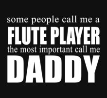 Some People Flute Player T-shirt by musthavetshirts
