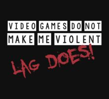 Video games do not make me violent, lag does! by bakery