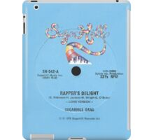 Rapper's Delight iPad Case/Skin