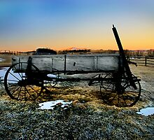 Wagon Colorado by Melinda Kerr