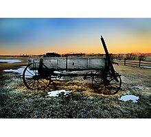 Wagon Colorado Photographic Print