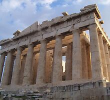 The Parthenon in Early Morning Light by Calysar