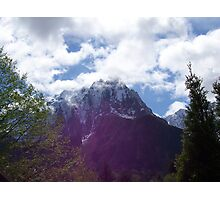 Brooding Mountain Photographic Print