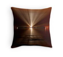 Endeavor's launch pad Throw Pillow