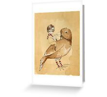 The littlest boy.. Greeting Card