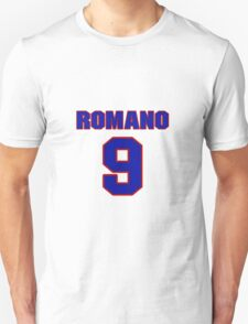 National baseball player John Romano jersey 9 T-Shirt