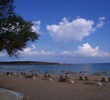 Chania Beach by Calysar