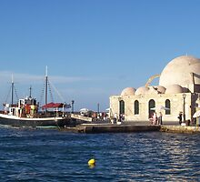 The Old Mosque in Chania, Crete by Calysar