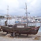 Old Boat in Chania by Calysar