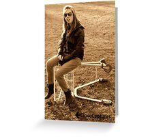 Sister Skatepark01 Greeting Card