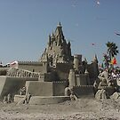 Sand Castles @ their best - Local sand art competiton Bolsa Chica State Beach, CA by leih2008