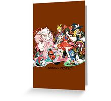 Touhou Project Greeting Card