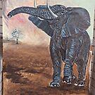 Elephant by dummy