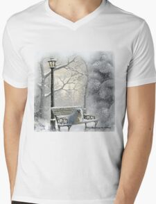 All is Calm - All is Bright Mens V-Neck T-Shirt