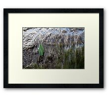 Falling Not Drowning Framed Print