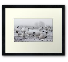 Baad Weather Framed Print