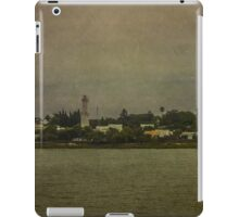 Ship Point of View of Colonia City in Uruguay iPad Case/Skin