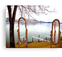 Lake Side Reflections II Canvas Print