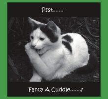 Psst.....Fancy a cuddle....? Kids Tee