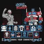 Robo Fighter shirt by lavalamp