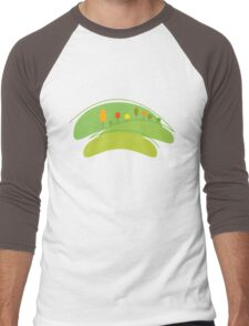 Eco Planet Men's Baseball ¾ T-Shirt