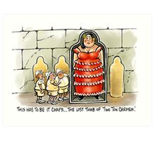Two Ton Carmen Art Print