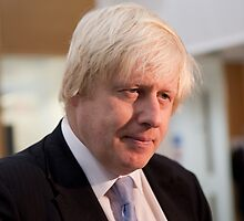 Boris Johnson Mayor of London by Keith Larby