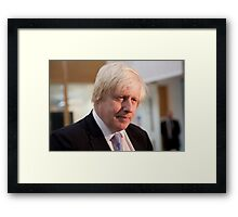 Boris Johnson Mayor of London Framed Print