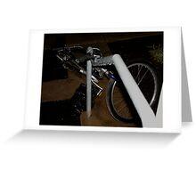 Uncommon Bike Rack Greeting Card