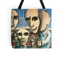 Public Faces Tote Bag
