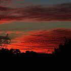 Power-filled sunset... by Judy Clark