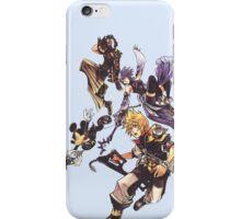 Kingdom Heart Birth by Sleep - Terra, Aqua, Ventus and Mickey Mouse iPhone Case/Skin