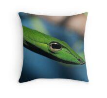 Vine Snake Throw Pillow