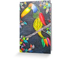 Toucan Gourd Greeting Card