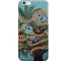 Mary Poppins Inspired Penguins P.L. Travers Umbrella  iPhone Case/Skin