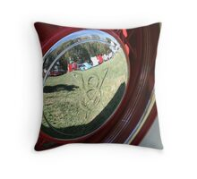V8 Reflection Throw Pillow