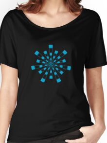 Mandala 31 Into The Blue Women's Relaxed Fit T-Shirt