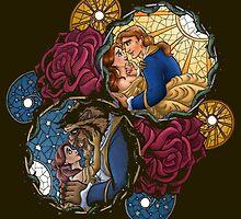 The Beauty and The Beast Disney - Main Scenes by peetamark