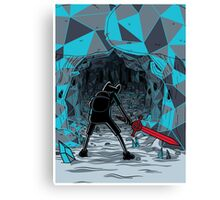 The Ice Awakens Canvas Print
