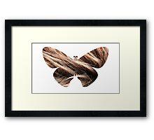 Flying hair Framed Print