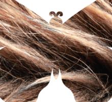 Flying hair Sticker