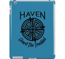 Haven Troubled Tattoo Black Logo iPad Case/Skin