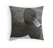 A Tufted Duck Throw Pillow