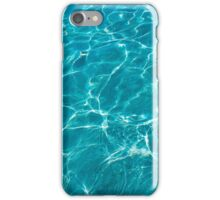 Blue turquoise water  iPhone Case/Skin
