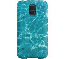 Blue turquoise water  Samsung Galaxy Case/Skin