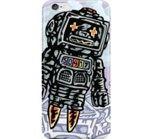 Flying Robot iPhone Case/Skin