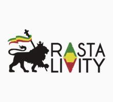 Rasta Livity BLK HRZ by JAHCultureINTL